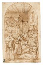Attributed to Jacopo Chimenti, called Jacopo da Empoli (Empoli 1554-1640)