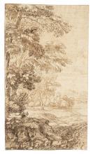 Giovanni Francesco Grimaldi, Il Bolognese (Bologna 1606-1680 Rome) A woode