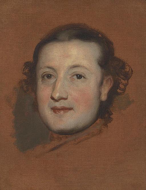 Portrait of Cardinal Carlo Rezzonico, a head sketch