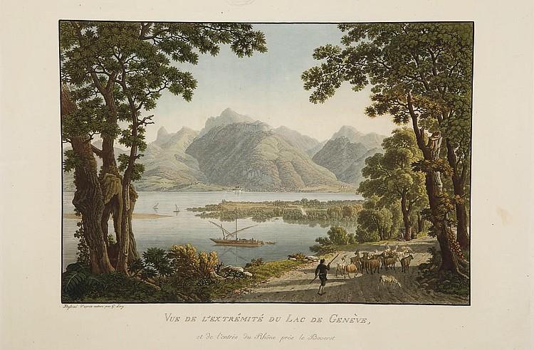 LORY, Mathias Gabriel (1784-1846).  Voyage pittoresque de Genève à Milan par le Simplon.  Paris: Didot l'aîné, 1811.