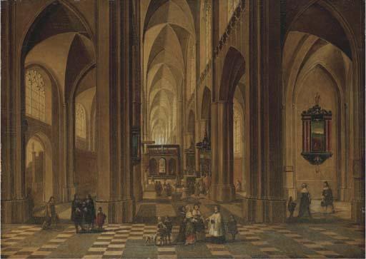 Pieter Neeffs I (Antwerp c. 1578-c. 1656)