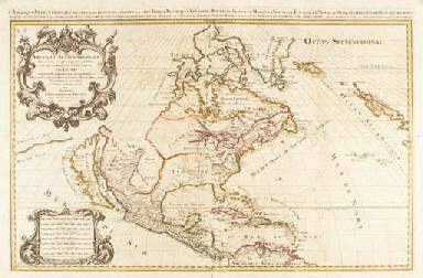 JAILLOT, Charles Hubert Alexis (1632-1712) and Nicolas SANSON D'ABBEVILLE (1600-1667). Atlas nouveau. Contenant toutes les parties du monde. Paris: Hubert Jaillot, 1696.