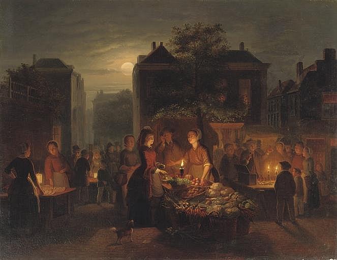 Pieter Gerardus Sjamaar (Dutch, 1819-1876)