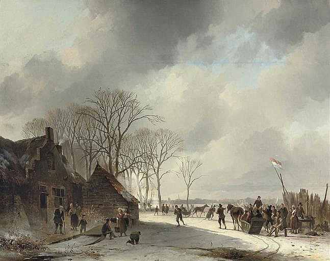 Cornelis Gerrit Verburgh (Dutch, 1802-1879)