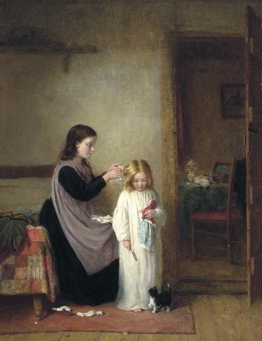 Frederick Daniel Hardy (1826 - 1911)