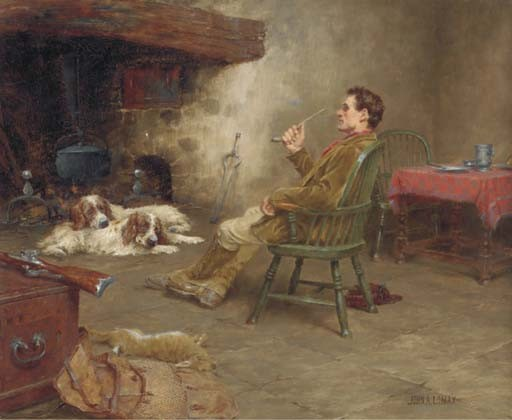 John Arthur Lomax, R.B.A. (1857-1923)