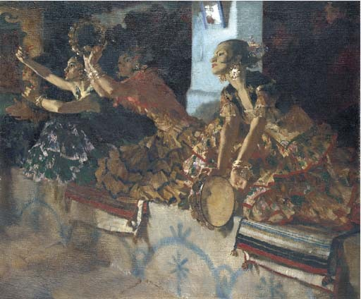 Sir William Russell Flint, R.A., P.R.W.S., R.S.W. (1880-1969)