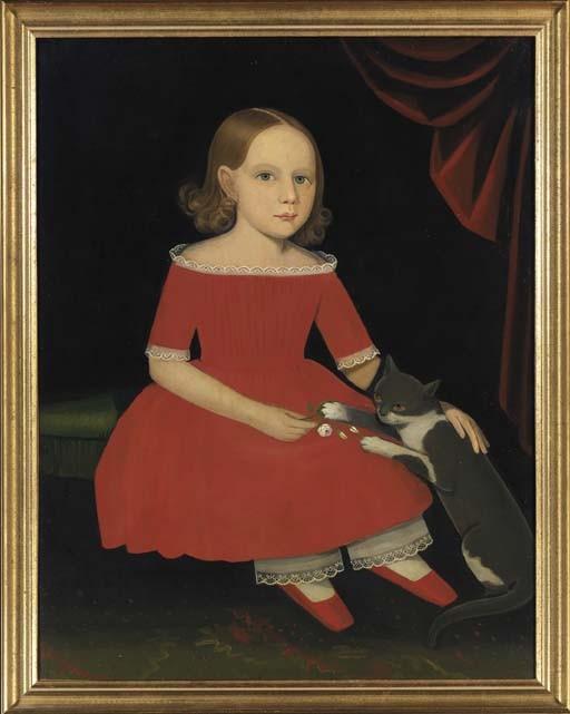 AMMI PHILLIPS (1787-1865), Circa 1830-1835