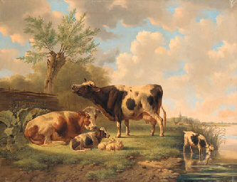 Albertus Verhoesen (Dutch, 1806-1881)