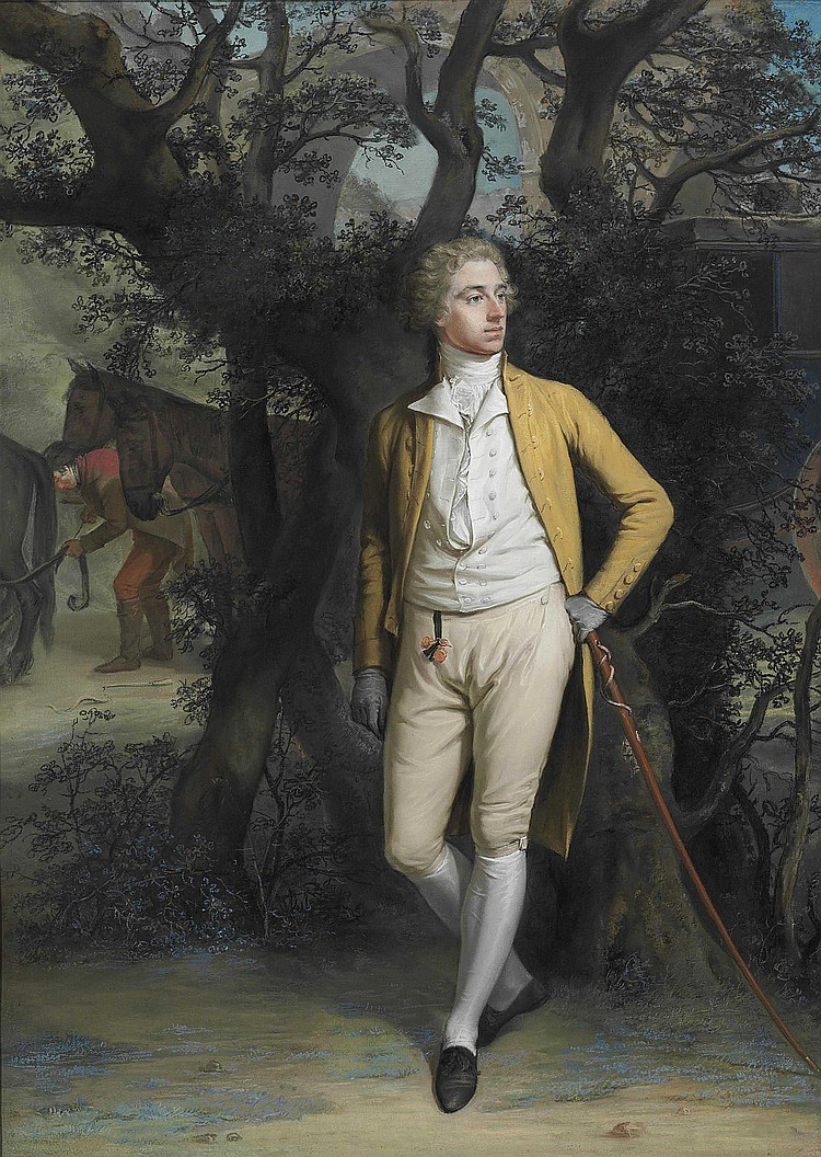 Hugh Douglas Hamilton, R.H.A. (Dublin 1740-1808)