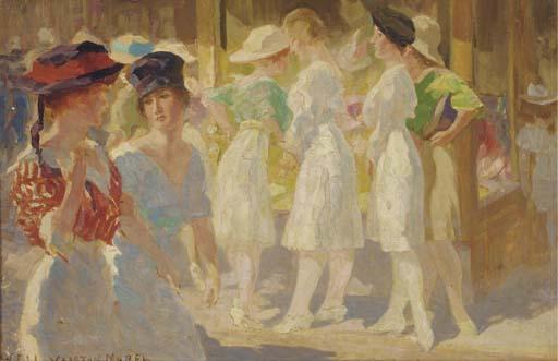 Willem Ferdinand Abraham Isaac Vaarzon Morel (Dutch, 1868-1955)