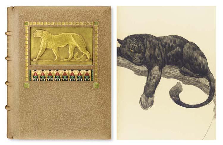 [JOUVE] -- KIPLING, Rudyard (1865-1936). <I>Le livre de la jungle. Traduit de l'anglais par Louis</I>