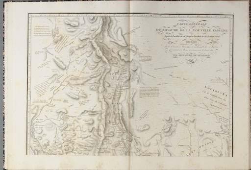 HUMBOLDT, Alexander von (1769-1859) and Aimé J.A. BONPLAND (1773-1858). <I>Essai politique sur le</I>