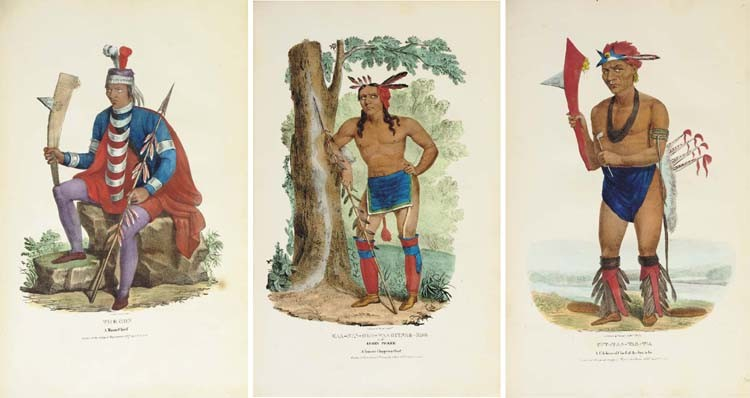 LEWIS, James Otto (1799-1858). <I>Aboriginal Port Folio; or a Collection of Portraits of the most</I>
