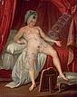 Jeune femme au miroir, Jean-Frederic Schall, Click for value