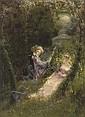 In the garden of love , Paul Albert Laurens, Click for value