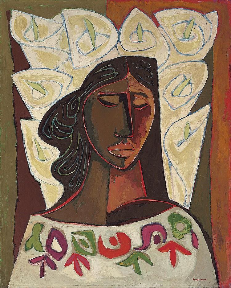 Oswaldo Guayasamín (Ecuadorian 1919-1999)