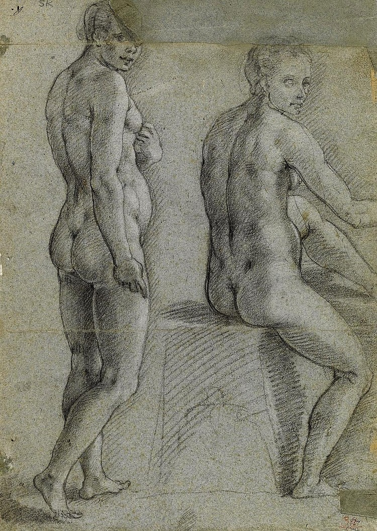 Attributed to Alessandro Casolani (Siena 1552-1606)