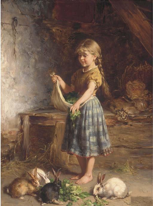 Heinrich Hirt (German, 1841-1902)