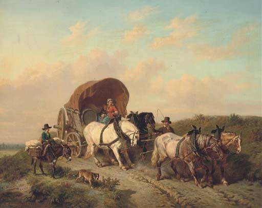 Charles Philogene Tschaggeny (Belgian, 1815-1894)