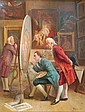 Inspecting the commission, August Hermann Knoop, Click for value
