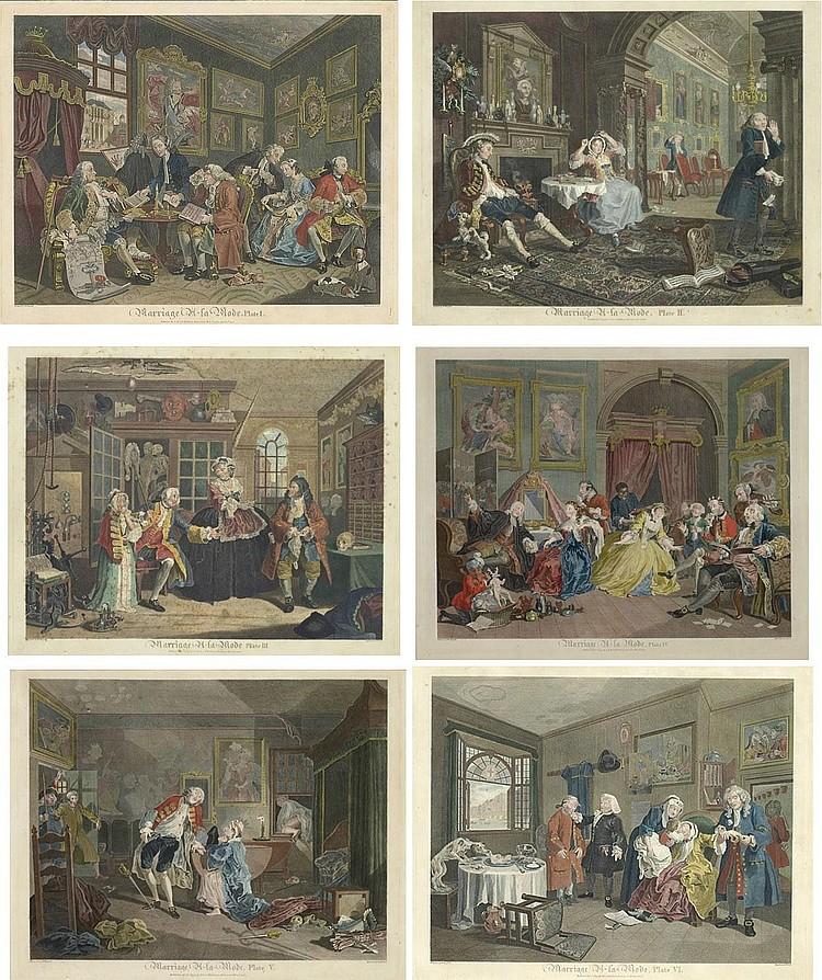 Thomas Cook (1744-1818), after William Hogarth (1697-1764)
