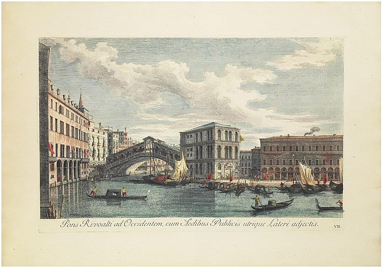 After Antonio Canal, called Canaletto (1697-1768) by Antonio Visentini (1688-1782)