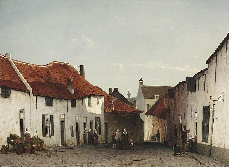 Jan Weissenbruch (The Hague 1822-1880)