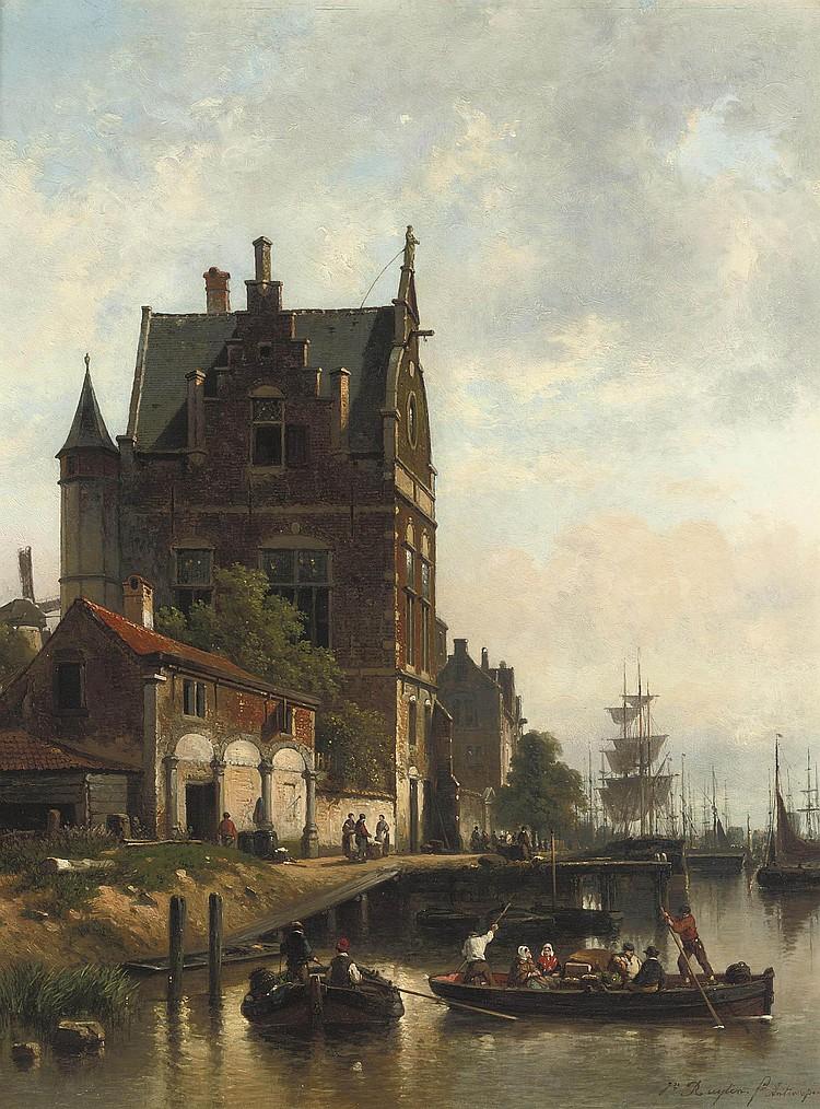 Jean Michel Ruyten (Antwerp 1813-1881)