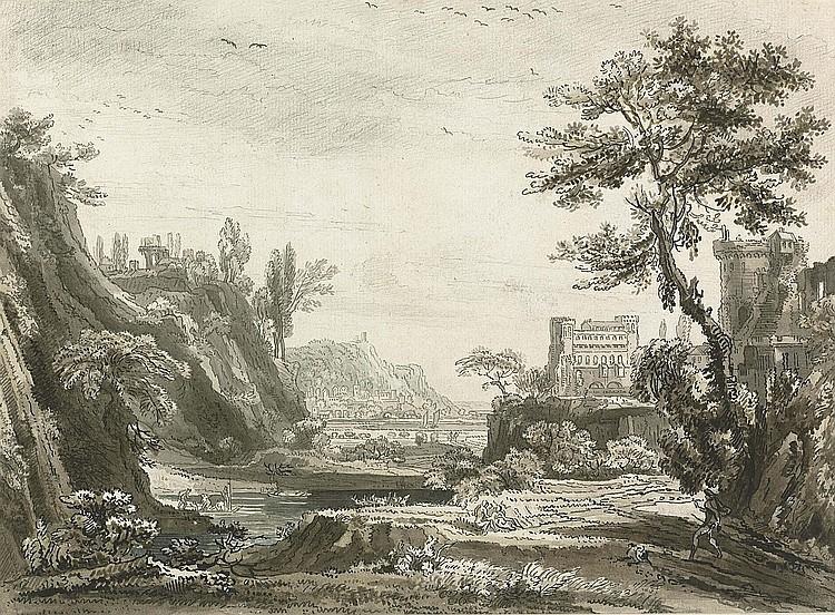 Jean Baptiste Claude Chatelain (Paris 1710-1758 London)