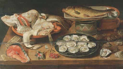 ATTRIBUE A ALEXANDER ADRIAENSSEN (ANVERS 1587-1661)