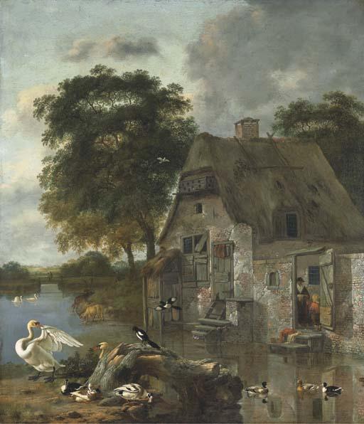 JAN WIJNANTS (HARLEEM C. 1631-1684 AMSTERDAM) ET DIRCK WYNTRACK (DRENTHE C. 1625-1678 LA HAYE)