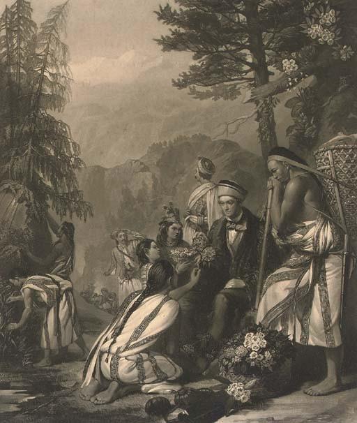 HOOKER, Sir Joseph Dalton (1817-1911) -- Frank STONE, A.R.A. (1800-1859). 'Dr. J.D. Hooker