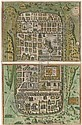 BRAUN, Georg (1541-1622) and Frans HOGENBERG (c.1538-1590). <I>Jerusalem, et suburbia eius sicut</I>, Franz Hogenberg, Click for value