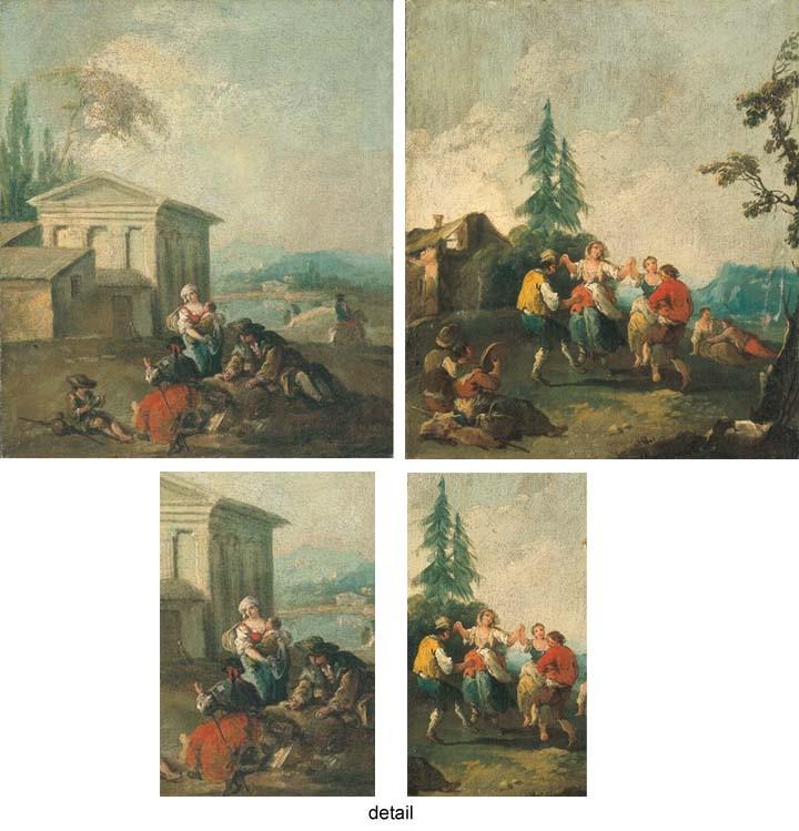 FRANCESCO ZUCCARELLI (PITTIGLIANO 1702-1778 FLORENCE)