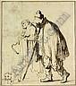 Rembrandt Harmensz. van Rijn (Leiden 1606-1669 Amsterdam),  Rembrandt, Click for value