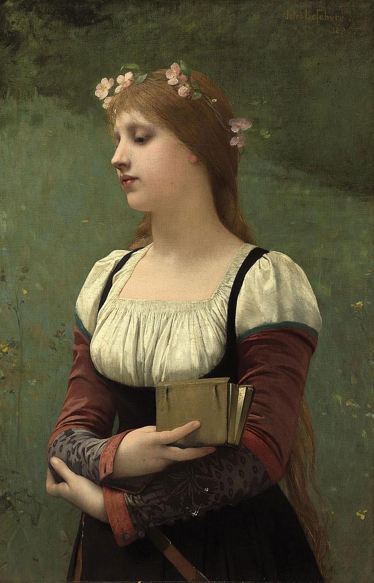 Jules Joseph Lefebvre (Tournan-en-Brie 1836-1911 Paris)