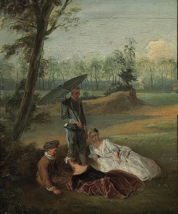 Attributed to Pierre-Antoine Quillard (Paris c. 1704-1773 Lisbon)