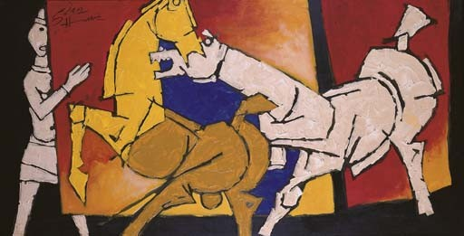 <B>MAQBOOL FIDA HUSAIN</B> (b. India 1915)