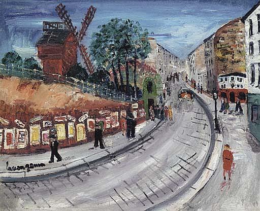 Moulin du Blute-Fin, Rue Lepic