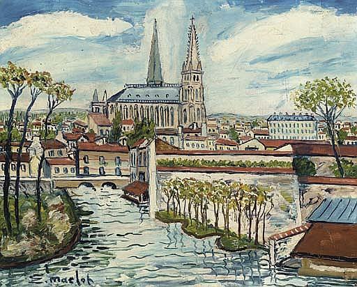 Chartres. La cathedrale et la basse ville