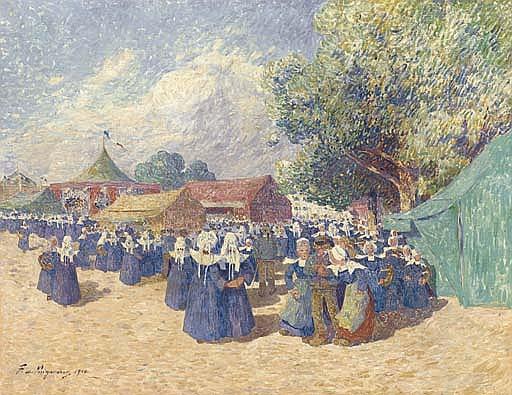Fête foraine en Bretagne
