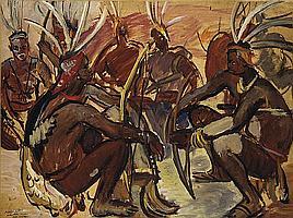 Archers Lobi, Gaoua, Haute-Volta