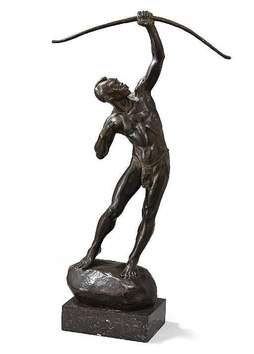 Le tireur à l'arc, vers 1930