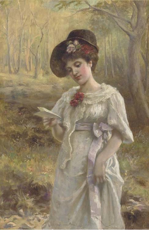 Miss Eva Hollyer (fl.1891-1898)