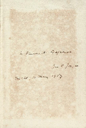JOYCE, James (1882-1941). Chamber Music. London: Elkin Mathews, [1907].