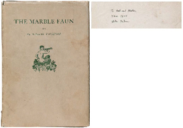 FAULKNER, William (1897-1962). The Marble Faun. Boston: Four Seas Company, 1924.