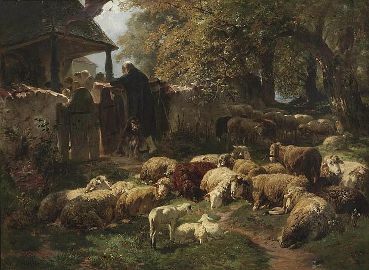 Josef Anton Braith (Biberach 1836-1905)