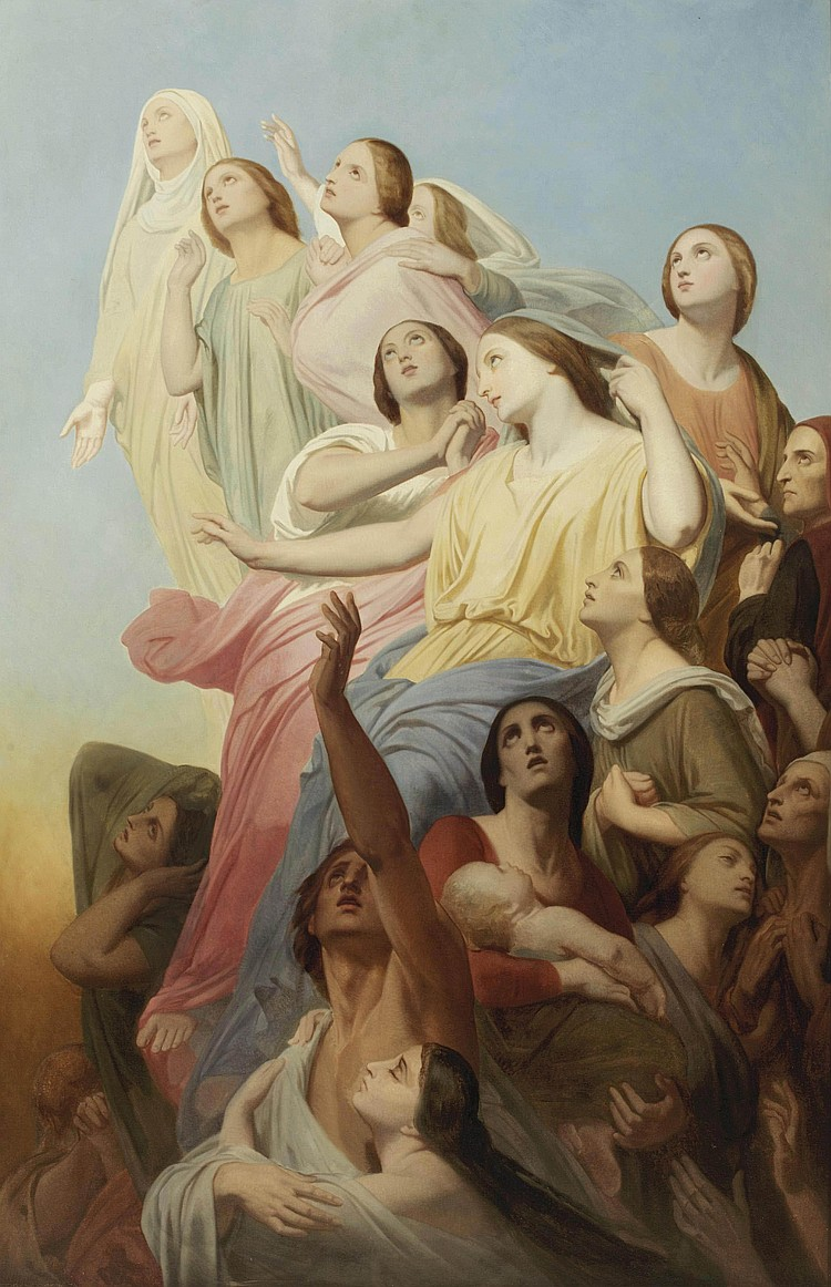Ary Scheffer (Dordrecht 1795-1858 Argenteuil)
