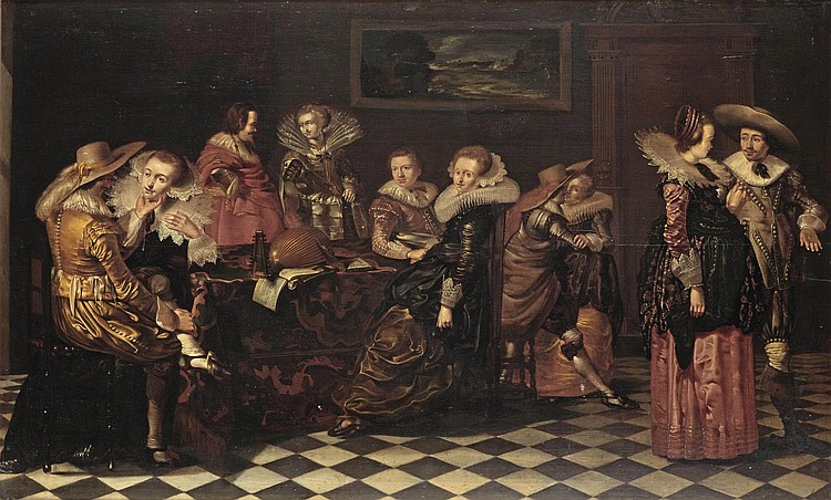 Attributed to Willem Cornelisz. Duyster (Amsterdam 1599-1635)